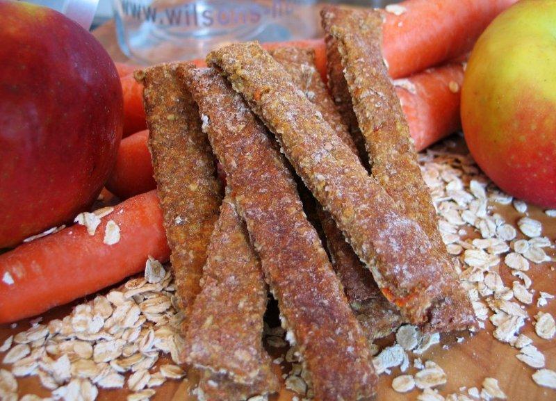 Apfelkarotten Sticks